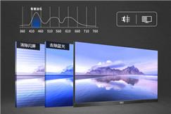 绿色办公E享真彩!AOC三边微边E2系列商用显示器新品来袭!