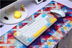 多平台办公无缝连接,GANSS ALT83D机械键盘晒物